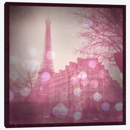 Lights in Paris Canvas Print #ULE8} by 5by5collective Art Print
