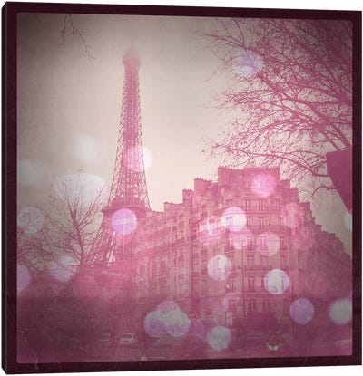 Lights in Paris Canvas Art Print