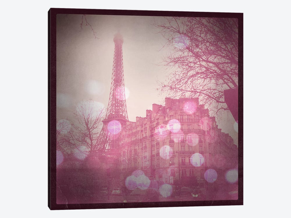 Lights in Paris by 5by5collective 1-piece Canvas Wall Art