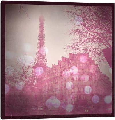 Lights in Paris Canvas Art Print