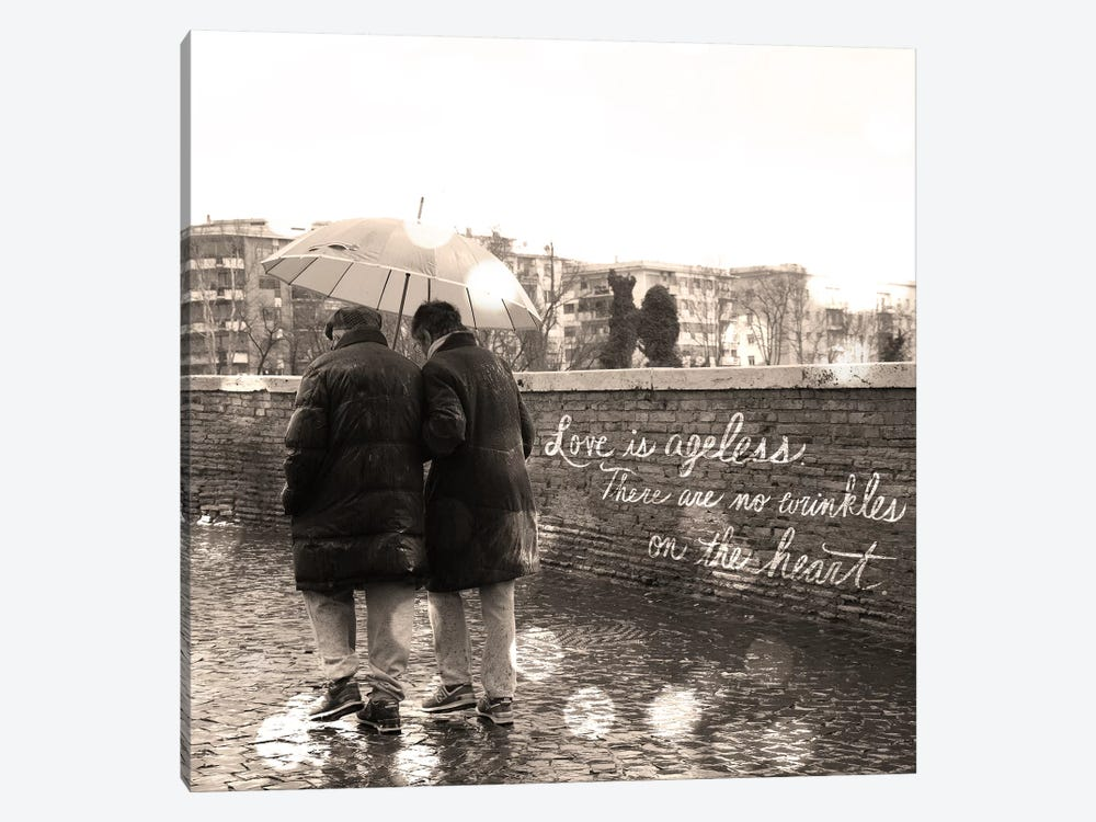 Love is Ageless by 5by5collective 1-piece Canvas Art Print
