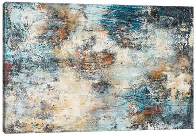 Impression Canvas Art Print