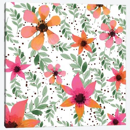 Autumn Flora Canvas Print #UMA100} by 83 Oranges Canvas Artwork