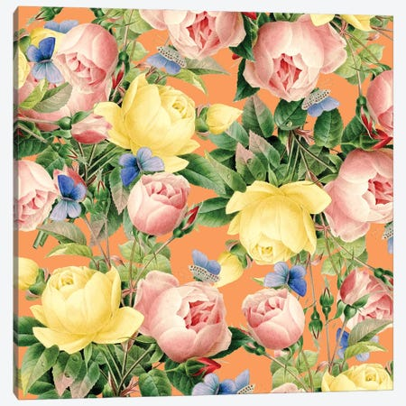 Flora Canvas Print #UMA1011} by 83 Oranges Canvas Artwork