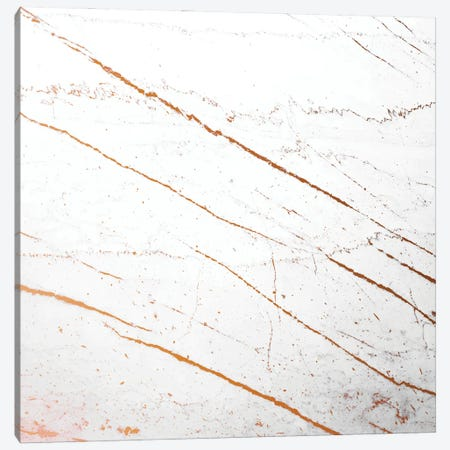Rose Gold Marble Canvas Print #UMA1013} by 83 Oranges Canvas Wall Art