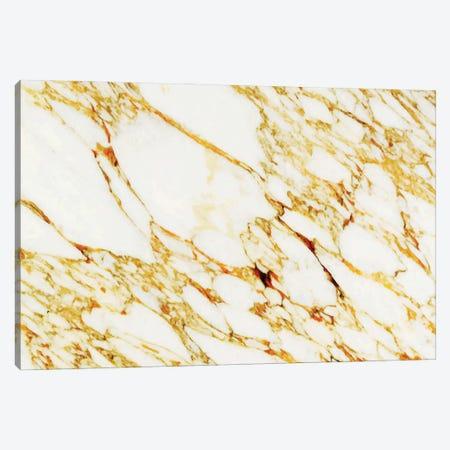 Gold Marble Canvas Print #UMA1022} by 83 Oranges Art Print