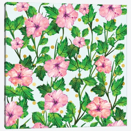 Blush Blossom Canvas Print #UMA102} by 83 Oranges Canvas Wall Art