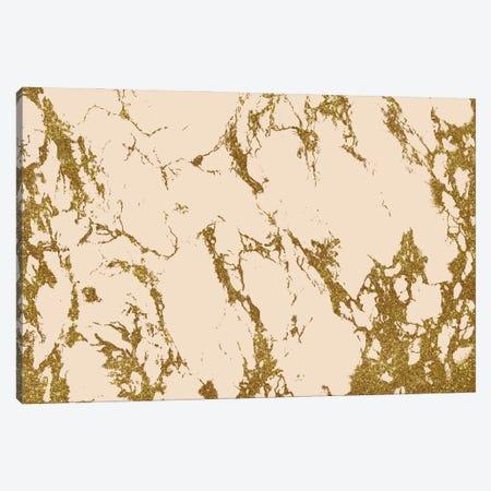 Blush & Gold Marble Canvas Print #UMA1038} by 83 Oranges Canvas Artwork