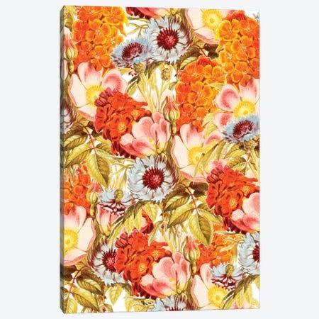 Coral Bloom Canvas Print #UMA1056} by 83 Oranges Canvas Print