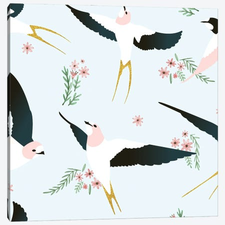 Birds Canvas Print #UMA1059} by 83 Oranges Canvas Wall Art