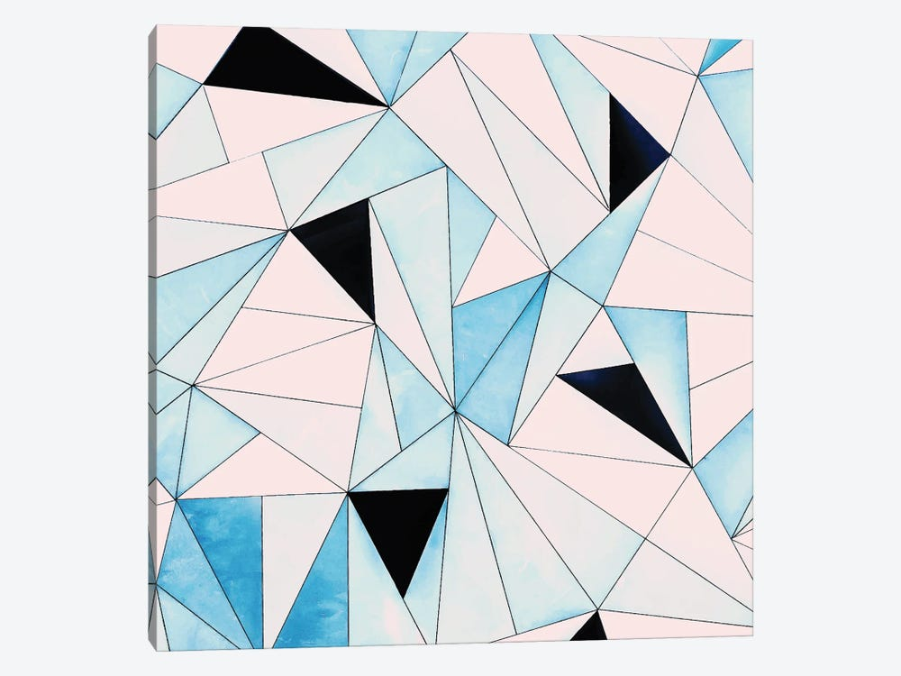 Geometric Washout by 83 Oranges 1-piece Canvas Art