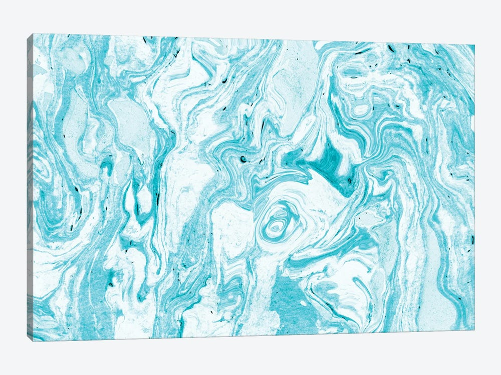 Ocean Blue Marble by 83 Oranges 1-piece Canvas Art