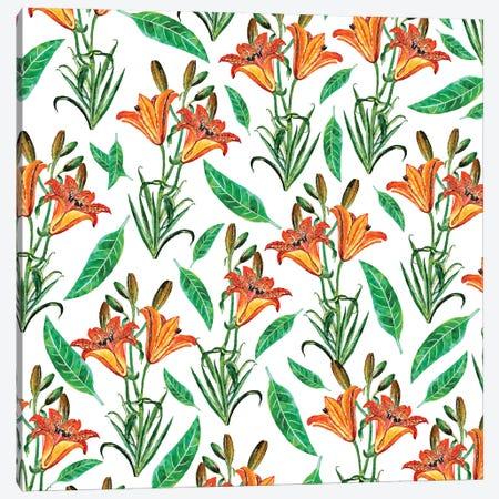 Floral Delight Canvas Print #UMA108} by 83 Oranges Canvas Art