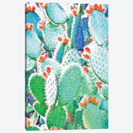 Painted Cactus Canvas Print #UMA1114} by 83 Oranges Canvas Wall Art