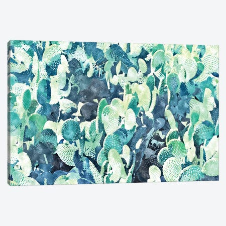 Watercolor Cactus III Canvas Print #UMA1116} by 83 Oranges Canvas Wall Art