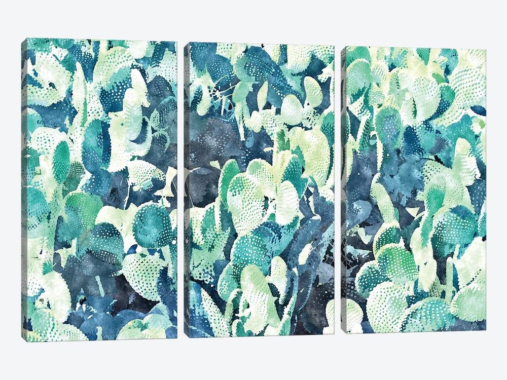 Watercolor Cactus III by 83 Oranges 3-piece Canvas Art