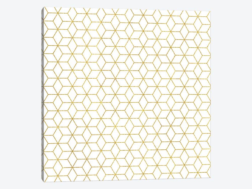 Gold + Geometric by 83 Oranges 1-piece Canvas Print