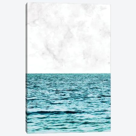 Ocean + Marble II Canvas Print #UMA1133} by 83 Oranges Canvas Print