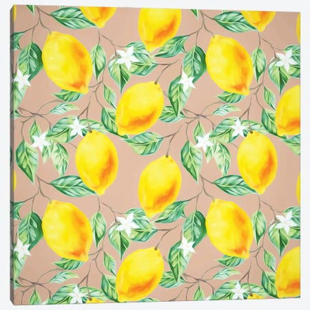 Lemon Fresh Canvas Print #UMA1138} by 83 Oranges Canvas Print