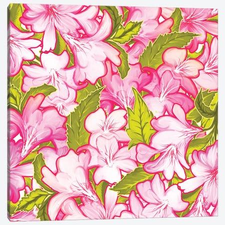 Pink Wonder Canvas Print #UMA118} by 83 Oranges Canvas Art Print