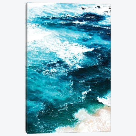 Sea Foam Canvas Print #UMA1211} by 83 Oranges Canvas Art