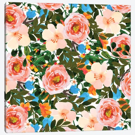Rose Garden Canvas Print #UMA121} by 83 Oranges Canvas Artwork
