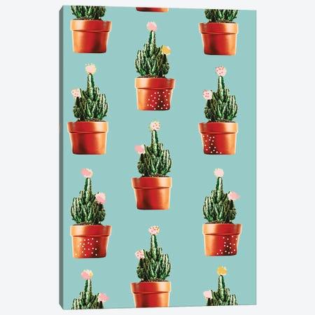 Cactus In Copper Pots Canvas Print #UMA1222} by 83 Oranges Canvas Print