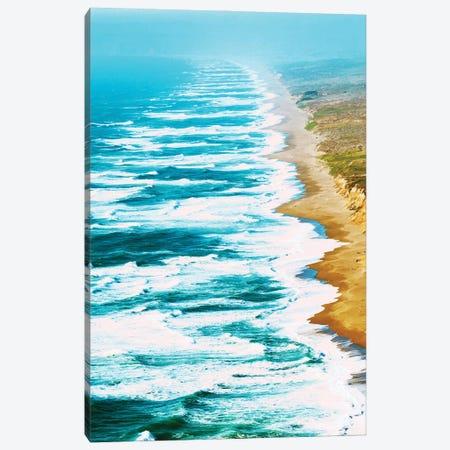 Live By The Sea Canvas Print #UMA1271} by 83 Oranges Canvas Artwork