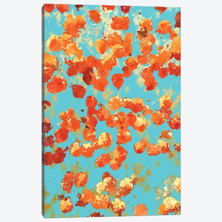 Teal Decor Canvas Print #UMA1283} by 83 Oranges Art Print