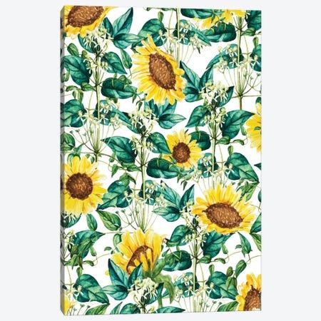 Sunflower Valley Canvas Print #UMA1298} by 83 Oranges Canvas Wall Art
