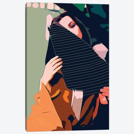 Don't Be Shy Canvas Print #UMA1326} by 83 Oranges Canvas Art Print