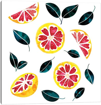 Fruit Crush Canvas Art Print