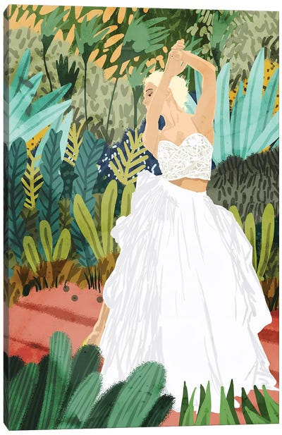 Forest Bride Canvas Art Print