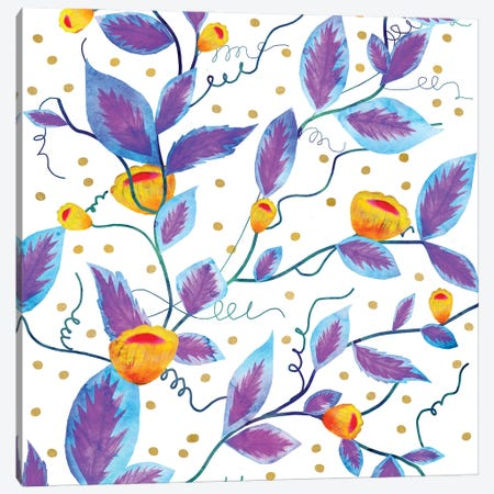 Purple Prosper Canvas Print #UMA1360} by 83 Oranges Canvas Art
