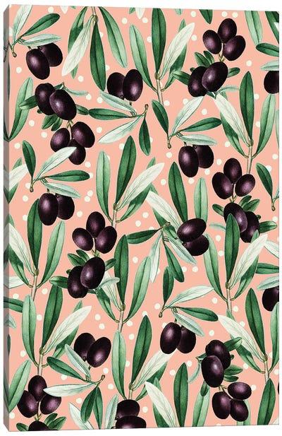 Sour Grapes V-I Canvas Art Print