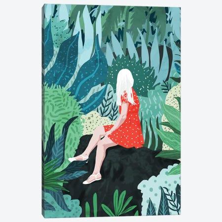 Forest Gaze Canvas Print #UMA136} by 83 Oranges Canvas Artwork