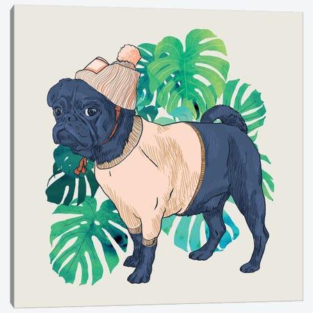 Got A Pug Canvas Print #UMA137} by 83 Oranges Canvas Wall Art