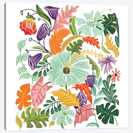 Hello Tropical Canvas Print #UMA1392} by 83 Oranges Canvas Print
