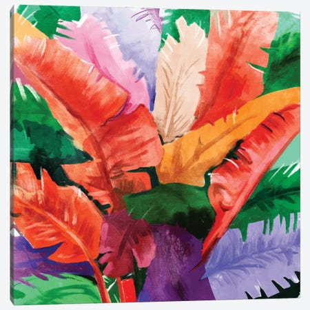 Banana Tree Canvas Print #UMA1395} by 83 Oranges Canvas Art