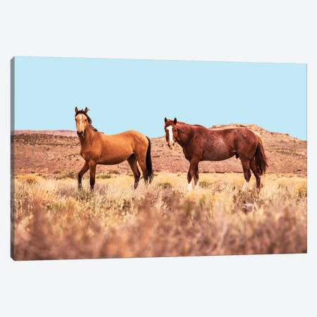 Horses 3-Piece Canvas #UMA139} by 83 Oranges Canvas Art Print