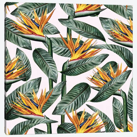 Bird Of Paradise Leaf Canvas Print #UMA13} by 83 Oranges Canvas Artwork