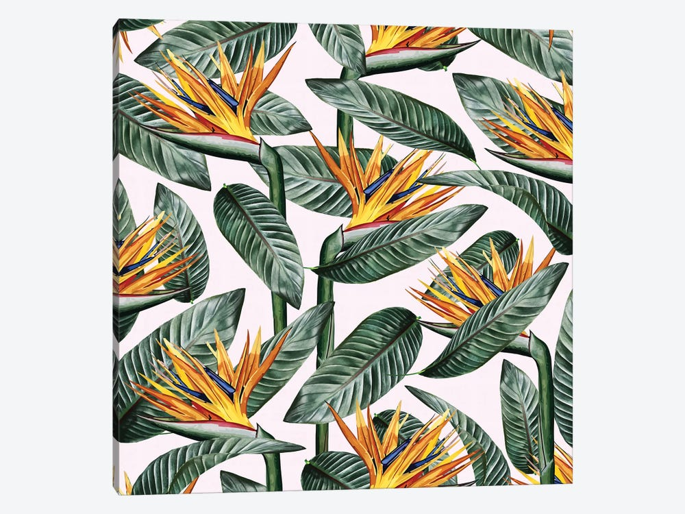 Bird Of Paradise Leaf by 83 Oranges 1-piece Canvas Art Print