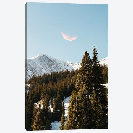 Daylight Moon Canvas Print #UMA1412} by 83 Oranges Canvas Artwork