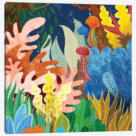 Night Forest Canvas Print #UMA1413} by 83 Oranges Canvas Artwork