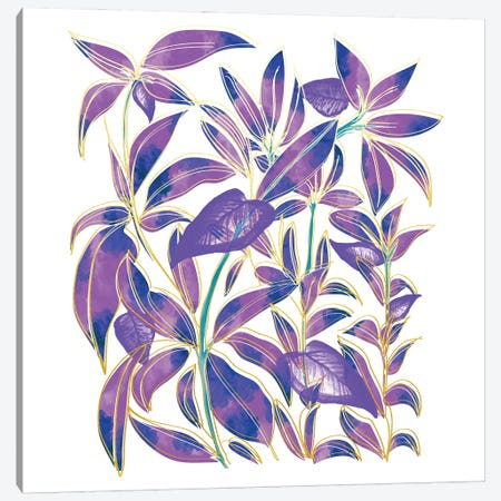 Ultraviolet Nature Canvas Print #UMA1421} by 83 Oranges Canvas Art Print