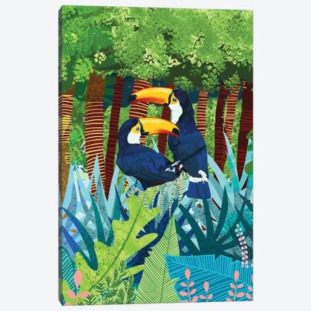 Tucans Canvas Print #UMA1437} by 83 Oranges Canvas Art Print