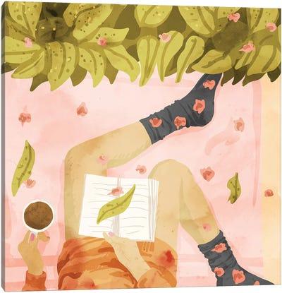 Me Time Canvas Art Print