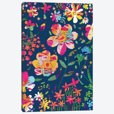 Paper Floral Canvas Print #UMA1442} by 83 Oranges Canvas Art Print