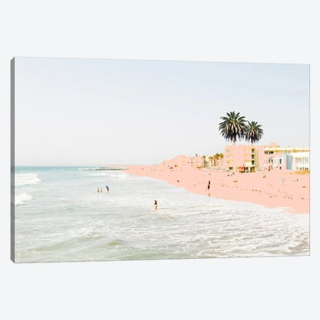 Pink Beach Canvas Print #UMA147} by 83 Oranges Canvas Art Print