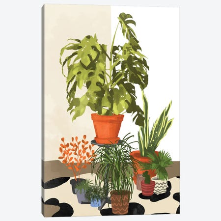 Plant Pots Canvas Print #UMA148} by 83 Oranges Canvas Wall Art